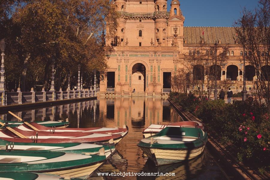 Rincones de Plaza de España, Sevilla