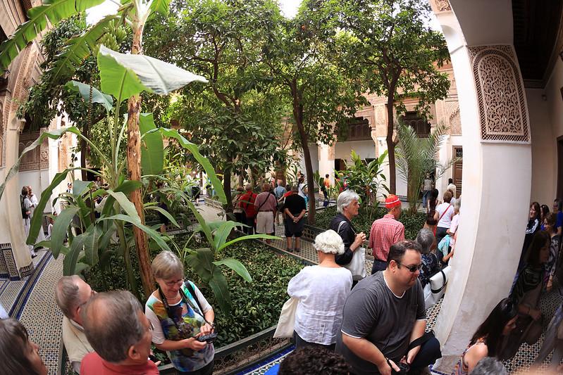 Palais Bahia courtyard