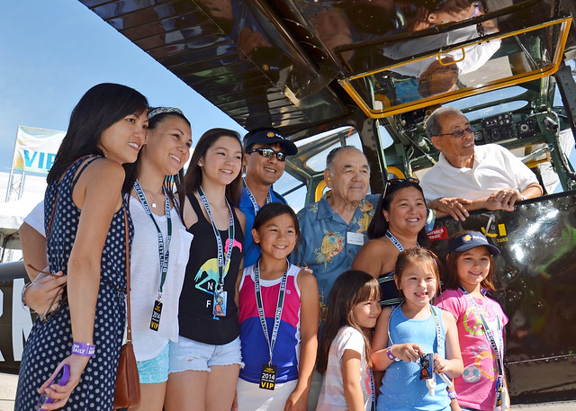 LY BUNG - Buang-Ly and Family with Admiral Chambers at the Sun 'n Fun Expo