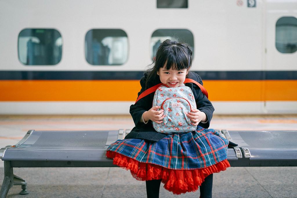 第一次搭高鐵