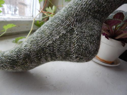 клин подъема закрученного носка