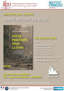 Debate around the book : Pas de printemps pour la Syrie