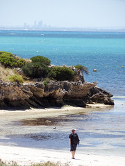 Rottnest - Perth from Rottnest I
