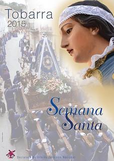 Cartel de Semana Santa de Tobarra de 2015