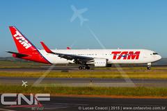 Boeing 767-300ER TAM Linhas Aéreas PT-MSY