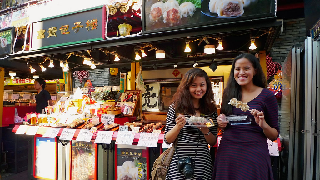 Micaela and I in Chinatown