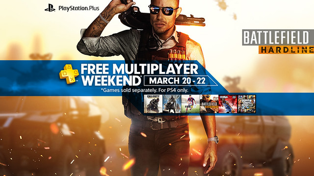 PS Plus Free Multiplayer Weekend 3/20 - 3/22
