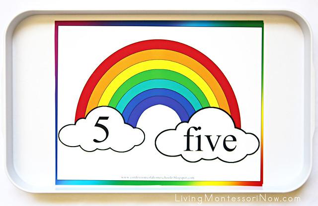 Rainbow Floor Numbers