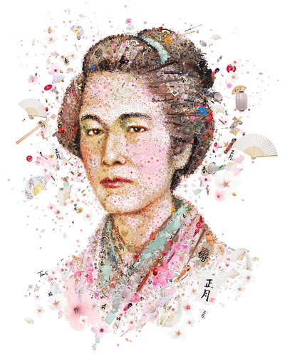 Nakano Takeko, the last woman samurai (for Womankind magazine)