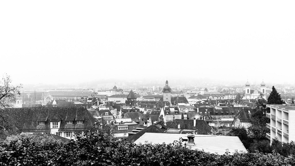 Stadtpanorama, Luzern