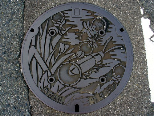 Sakai Osaka, manhole cover 4 (大阪府堺市のマンホール4)