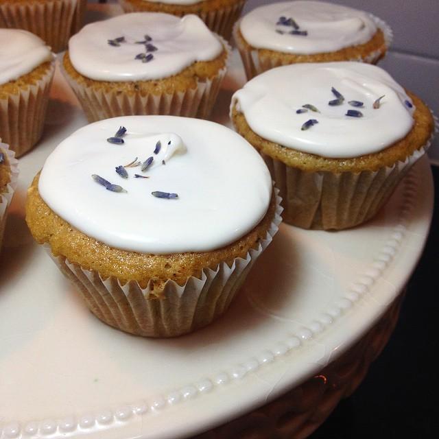 Lavender Cupcakes #vegan