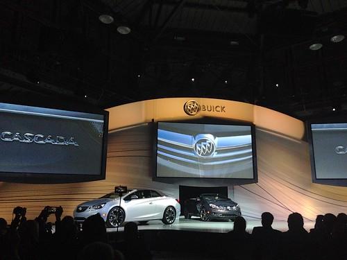 PIC: First look! @Buick #Cascada convertible! #ThatsABuick #gmdiversity #NAIASGM #naias #NAIAS2015