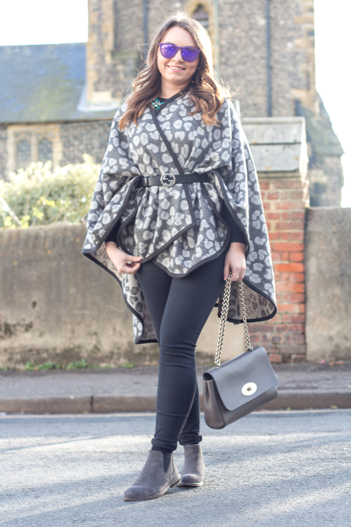 Ellie maydoll leopard warehouse cape 2