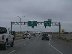 Junction of U.S. Route 90 with Interstate 410, San Antonio, Texas