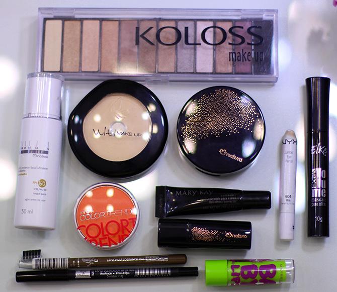 05-maquiagem completa para o dia com esfumado marrom