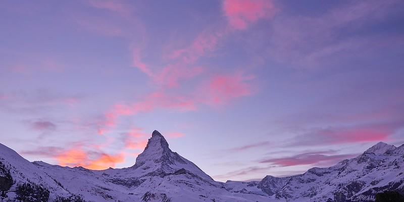 Matterhorn at Dusk - Zermatt