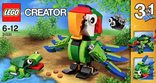 LEGO Creator 31031 Rainforest Animals box02