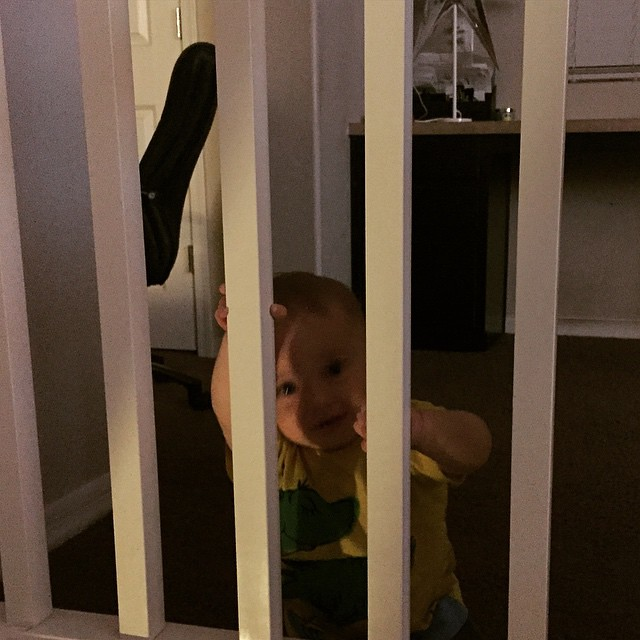 Somebody's in baby jail 😂 by bartlewife