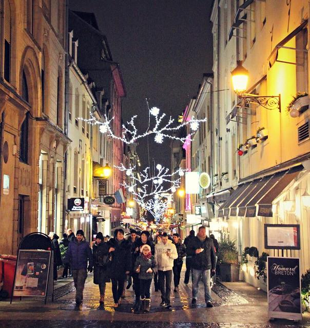Luxemburg talvella