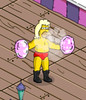 The Simpsons Tapped Out Abe Powder