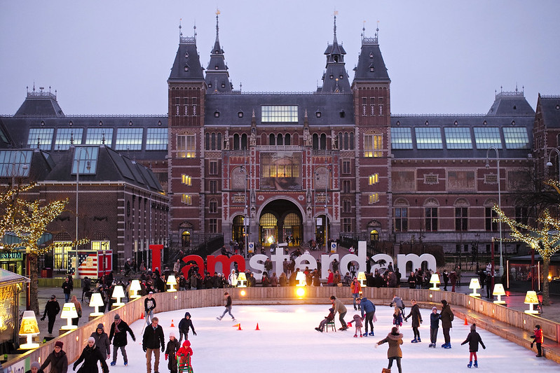 I amsterdam: Come Skating