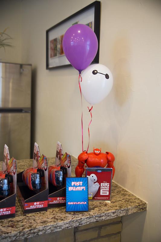 Big Hero 6 Rocket Fist Party Favors