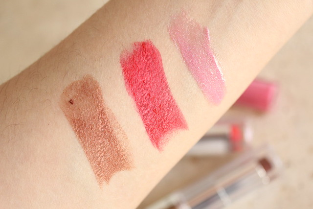 Revlon Ultra HD Lipstick Lip Lacquer swatches