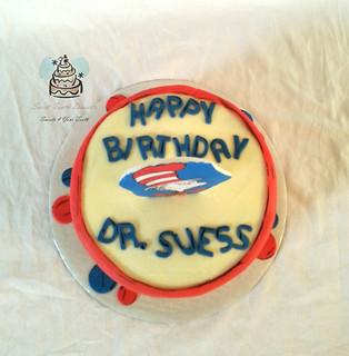 Dr. Suess Birthday Cake