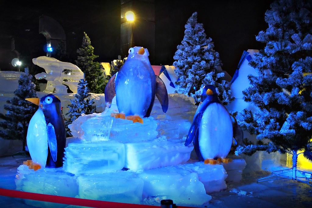 台中高鐵-2015正宗哈爾濱冰冰燈冰雕展-25