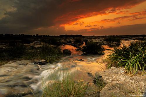 sunset india nature river photography landscapes sundown neha gujarat desai surat tapi chittaranjan