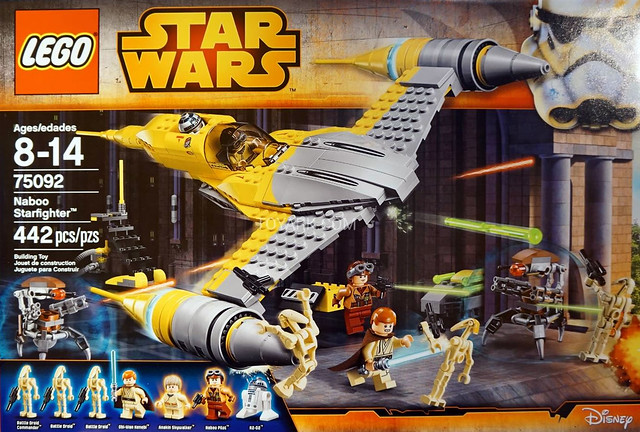 LEGO Star Wars 75092 - Naboo Starfighter