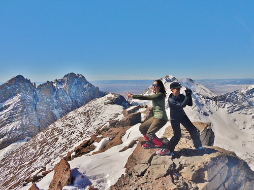 Charlie's Angels on Humboldt Peak