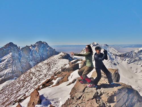 Charlie's Angels on Humboldt Peak