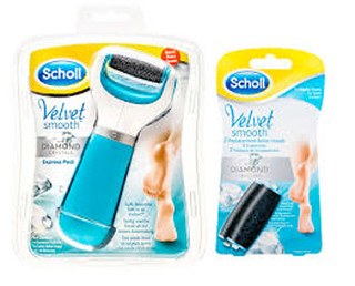 Dr Scholl. Velvet Smooth Diamond Crystals visual