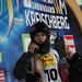 KREISCHBERG, AUSTRIA-January 22: Cassie Sharpe awaits her score during the halfpipe competition at 2015 FIS Freestyle Ski World Championships.