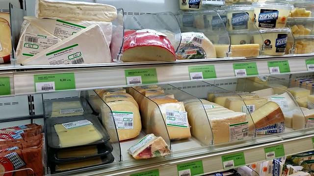 Brietä, kovia juustoja, kaikkea hyvää