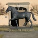 P3010590, Horse Statue - The State Stud of Moritzburg by guenter.huth