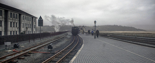 Port Madoc  steam railway station
