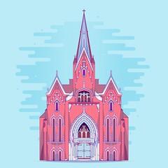 Logan Square's Norwegian Church, Minnekirken