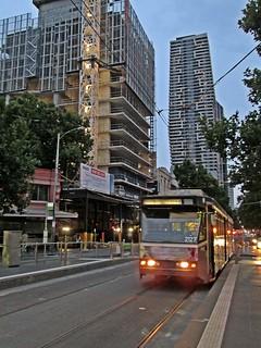 Melbourne - Evening Tram