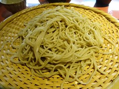 Japanese Soba Noodle Dinner @Akihabara, Tokyo