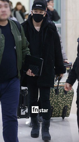 BIGBANG (wout Seungri) arrival Seoul Gimpo from Beijing 2016-01-02 (6)