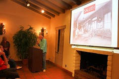 Richard Moriarty discusses wine at OCHS, Oct. 2016
