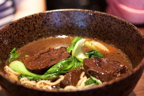 beef noodle soup @ bao
