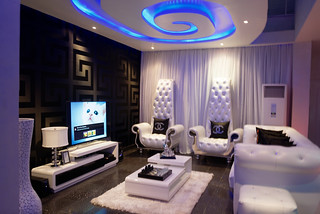 Inside AY's new house