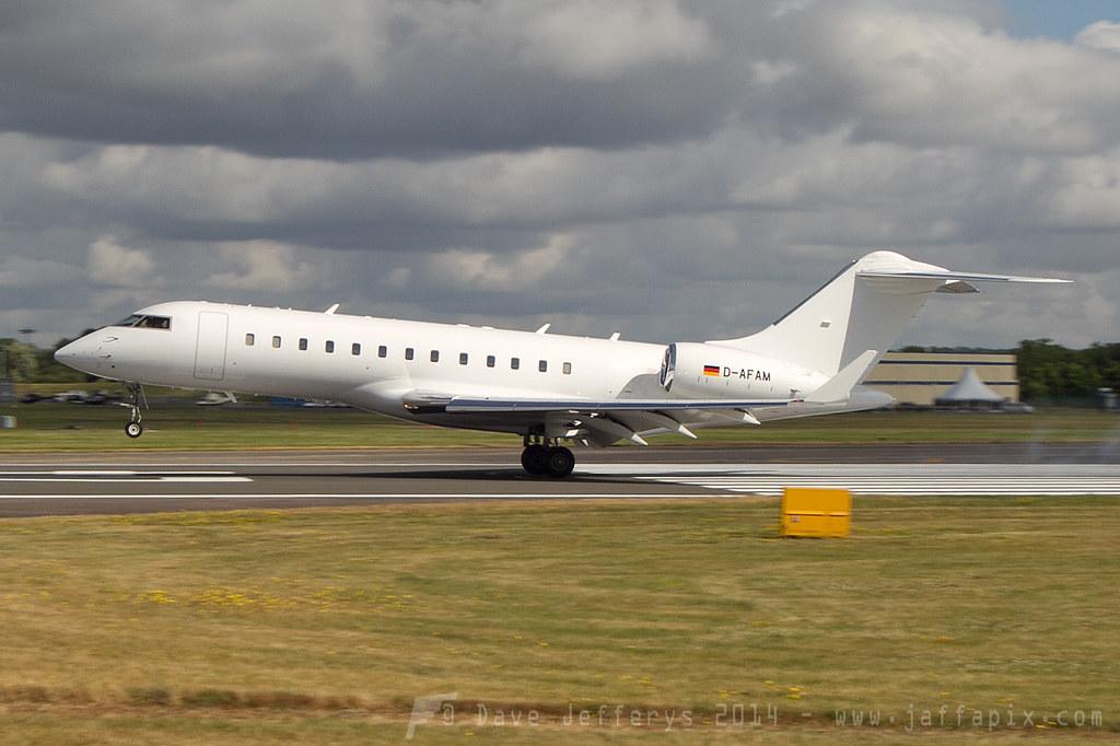 D-AFAM - GLEX - FAI rent-a-jet