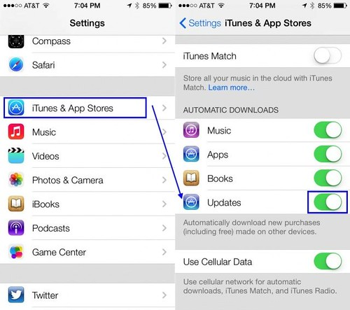 Disable-Auto-Updates-Gadgets Informer