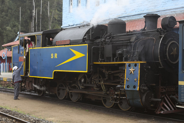 Train à Vapeur Ooty