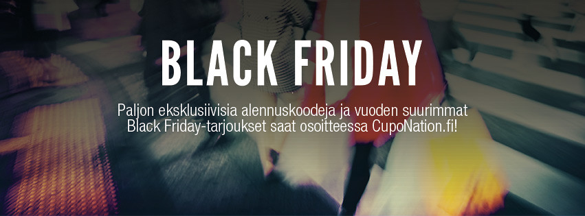 Black Friday Suomi